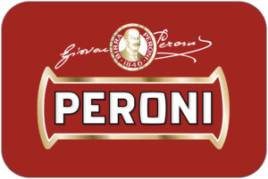 Peroni biscotto backdrop